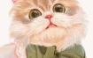 阿花水彩风少女头像团练第2期综合班ipad插画课2021年4月【画质高清有笔刷】