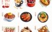 【Eleven_To】水彩美食团练第二期2021年3月ipad插画课【画质高清有笔刷素材】